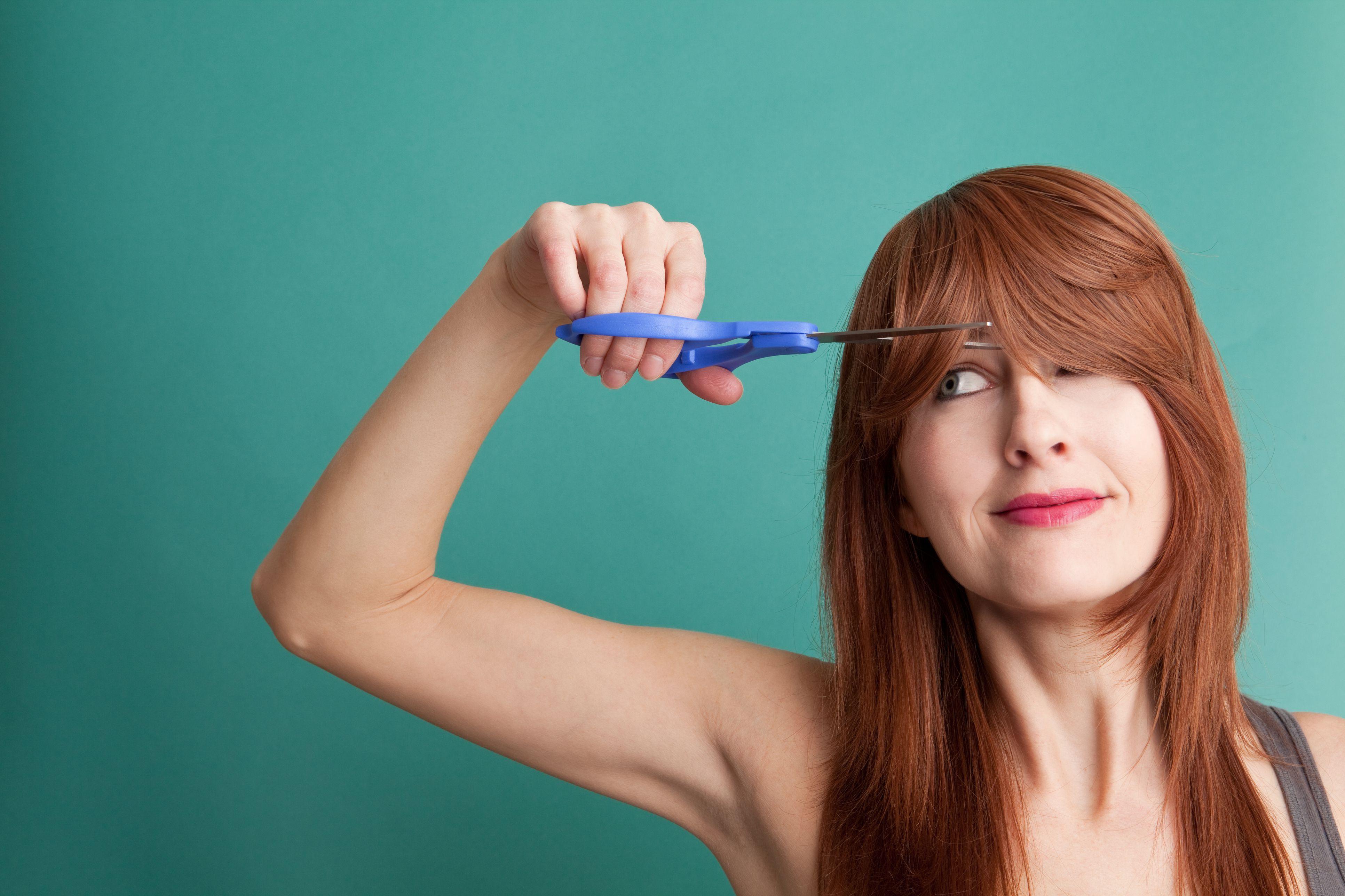 Картинки подстричь волосы